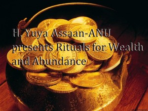 Abundance - Rituals for Wealth