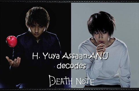 Death Note Decode